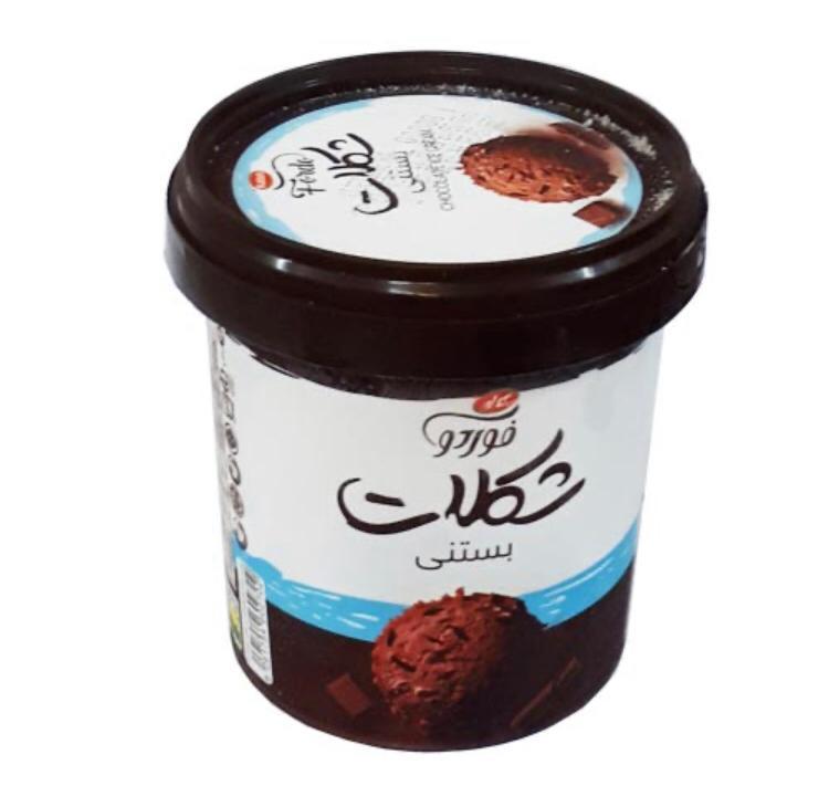 بستنی  لیوانی 240g شکلاتی فوردو کاله - بستنی  لیوانی 240g شکلاتی فوردو کاله