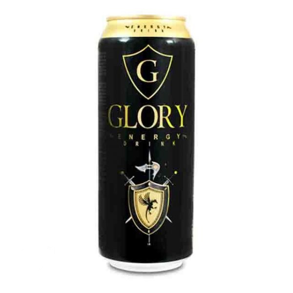 نوشیدنی انرژی زا 500MIL گلوری (GLORY) - نوشیدنی انرژی زا 500MIL گلوری (GLORY)