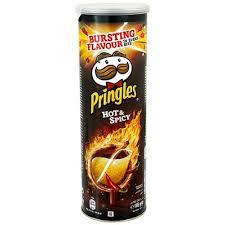 چیپس پرینگلز تند و آتشی 165 گرم - چیپس پرینگلز تند و آتشی 165 گرم