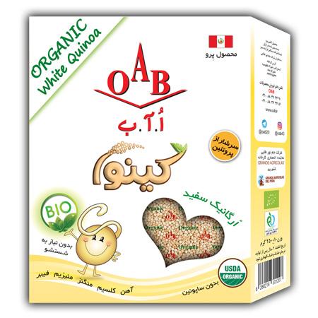 کینوا سفید اورگانیک OAB - کینوا سفید اورگانیک OAB
