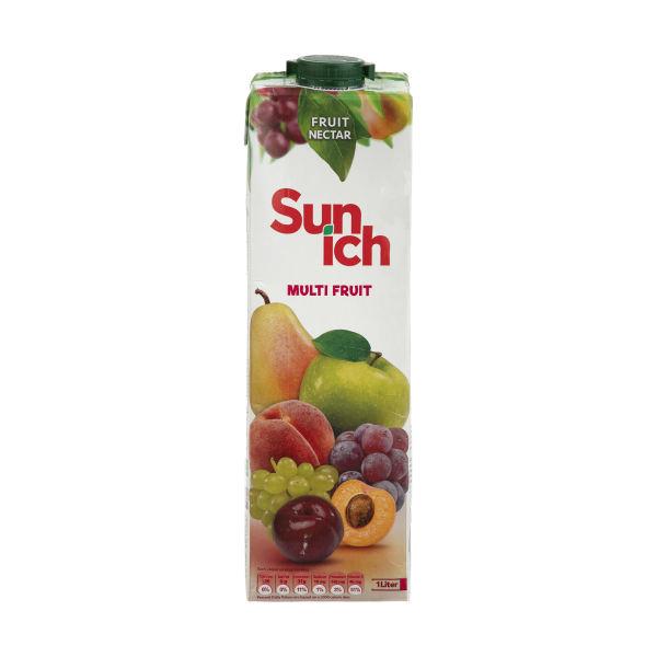 نکتار هفت میوه 1 لیتر سن ایچ - نکتار هفت میوه 1 لیتر سن ایچ