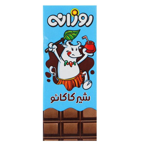شیر کاکائو پاکتی 200 میل روزانه - شیر کاکائو پاکتی 200 میل روزانه