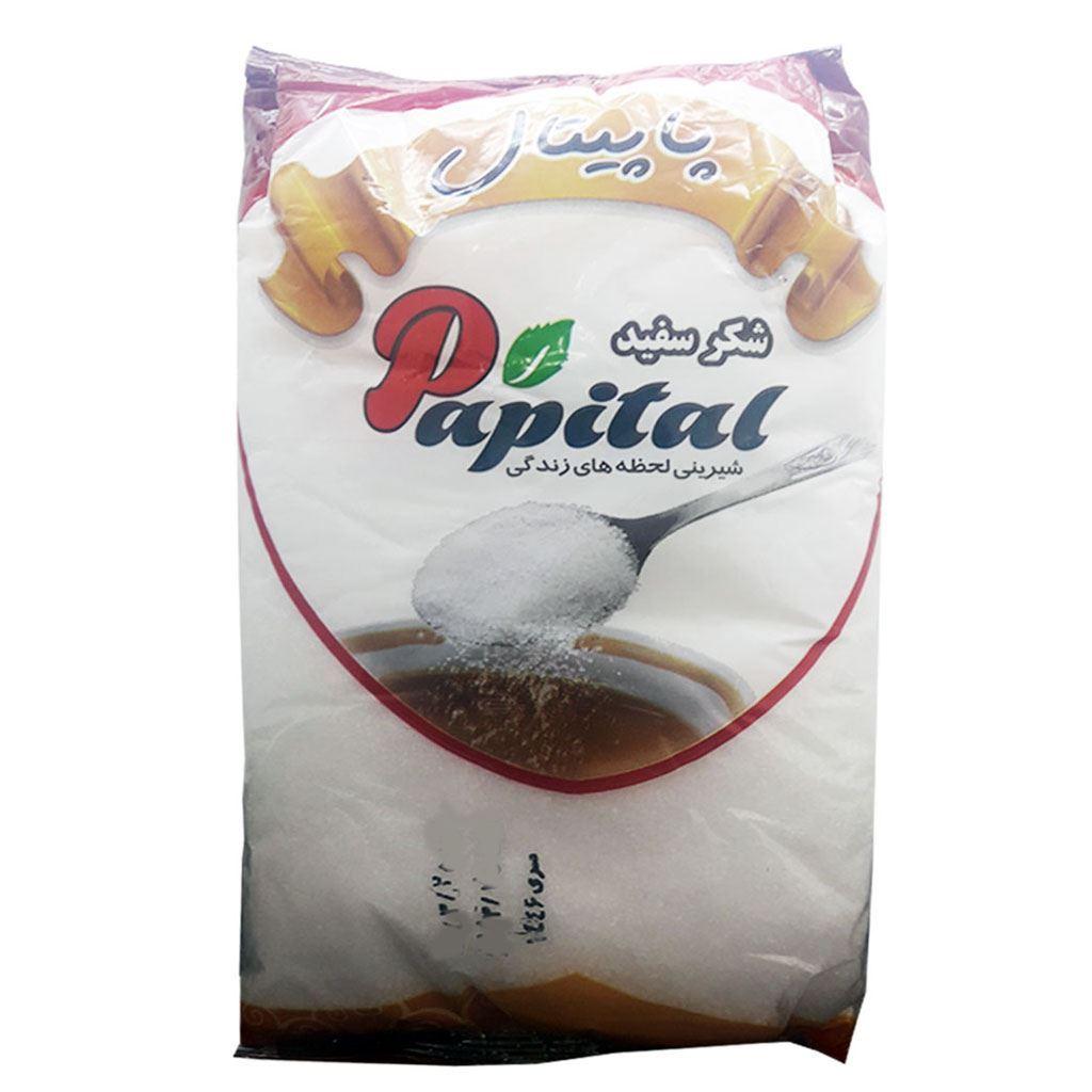 شکر سفید 1 کیلو پاپیتال - شکر سفید 1 کیلو پاپیتال