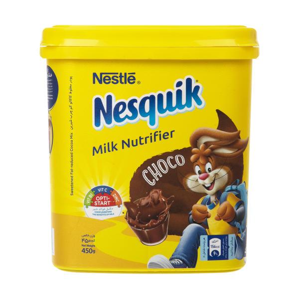 پودر کاکائو شیرین 450g  نسکوئیک - پودر کاکائو شیرین 450 گرم نسکوئیک