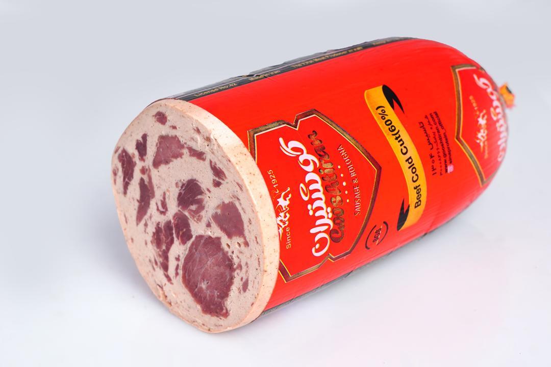 کالباس خشک 60 درصد گوشتیران مقدار 250 گرم - کالباس خشک 60 درصد گوشتیران مقدار 250 گرم