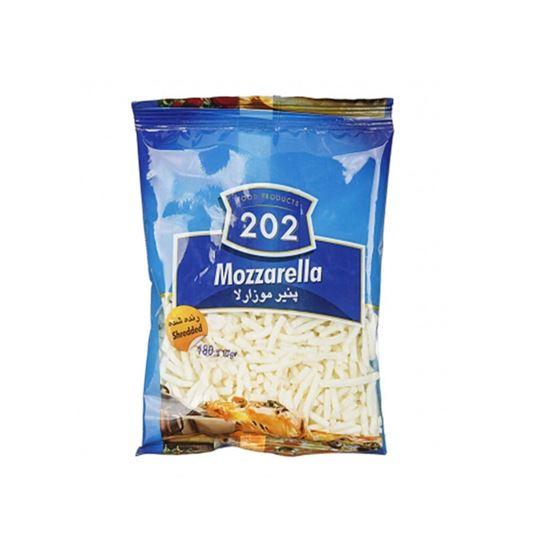 پنیر پیتزا موزارلا 180 گرمی 202 - پنیر پیتزا موزارلا 180 گرمی 202