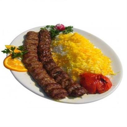 چلو کباب کوبیده سنتی با گوشت گرم - ایران زمین - چلو کباب کوبیده سنتی با گوشت گرم - ایران زمین