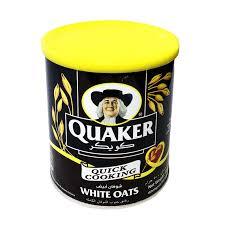 جو دو سر سفید 500 گرم کواکر Quaker - جو دو سر سفید 500 گرم کواکر Quaker
