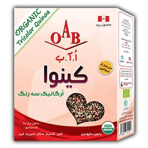 کینوا ارگانیک سه رنگ 250 گرم OAB - کینوا ارگانیک سه رنگ 250 گرم OAB