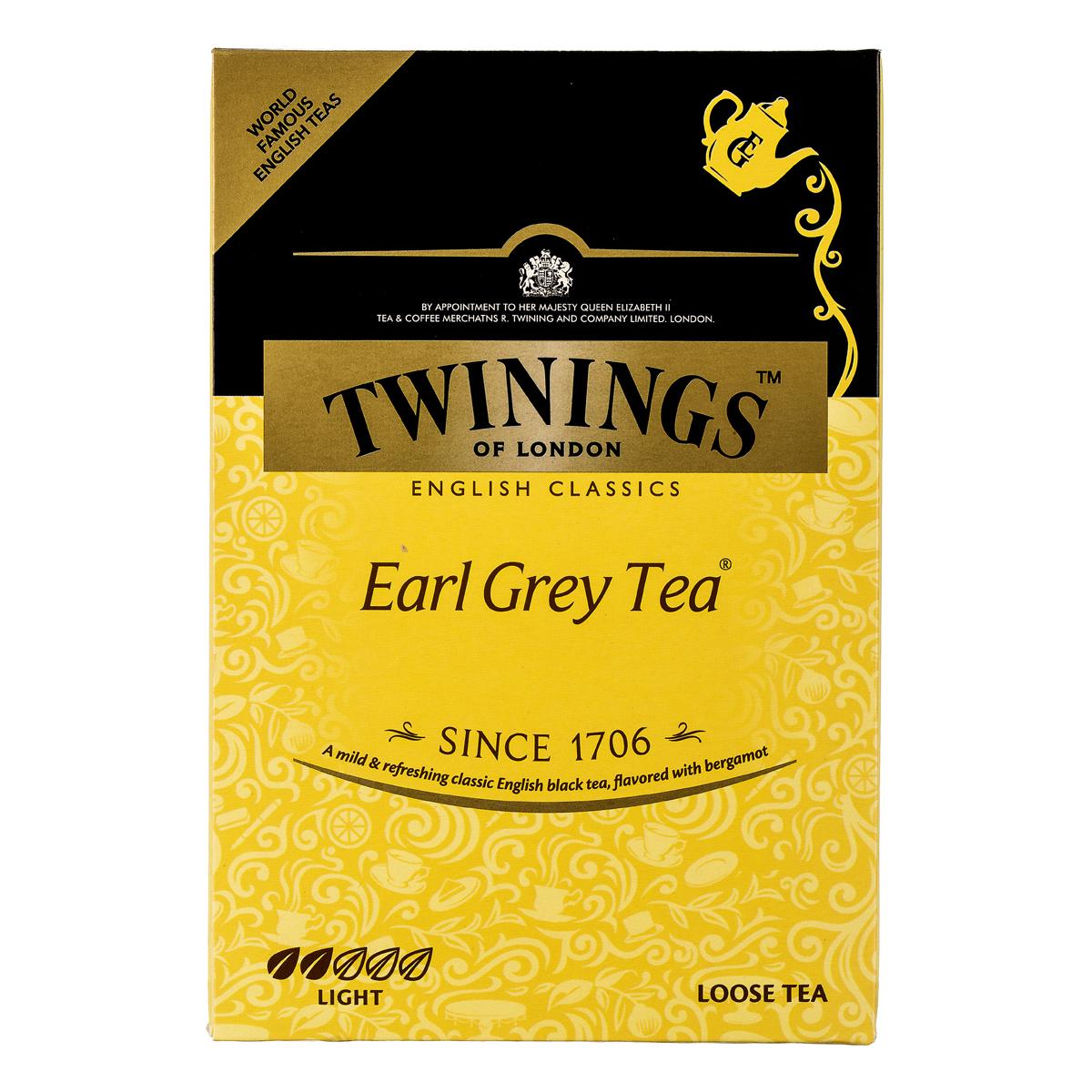 چای سیاه پاکتی ارل گری 450گرم توینینگز - چای سیاه پاکتی ارل گری 450گرم توینینگز