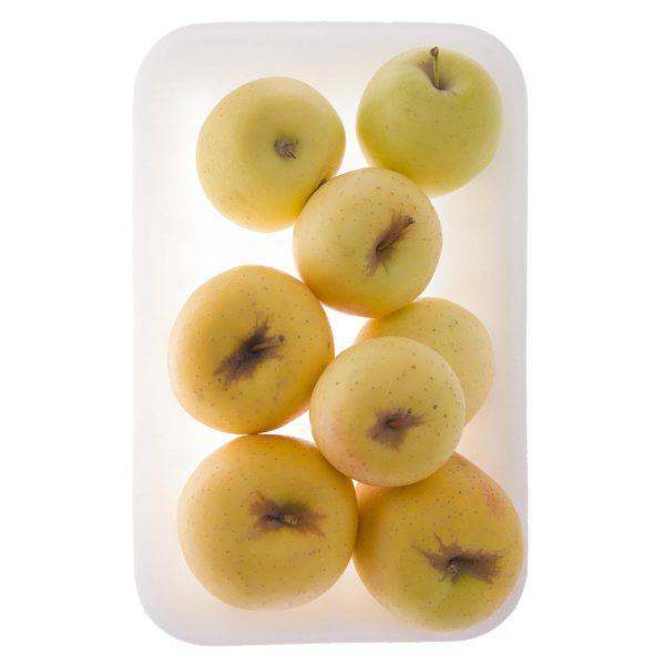سیب زرد درجه دو یک کیلوگرم ایران زمین  - سیب زرد درجه دو 600 گرم ایران زمین