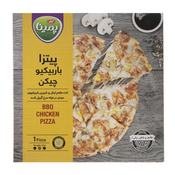 پیتزا باربیکیو چیکن  470 گرم پمینا