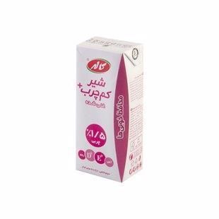 شیر غنی شده پاکتی کم چرب 200 میل کاله - شیر غنی شده پاکتی کم چرب 200 میل کاله