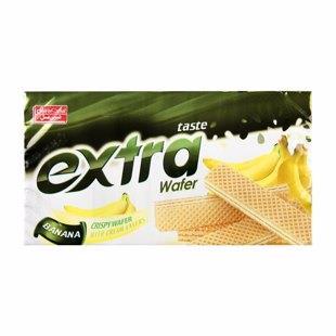 ویفر اکسترا موز 100 گرمی شیرین عسل - ویفر اکسترا موز 100 گرمی شیرین عسل