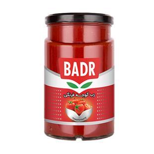 رب گوجه فرنگی شیشه 650 گرمی بدر - رب گوجه فرنگی شیشه 650 گرمی بدر