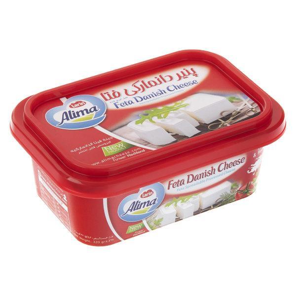 پنیر دانمارکی فتا آلیما مقدار 320g  - پنیر دانمارکی فتا آلیما مقدار 320  گرم