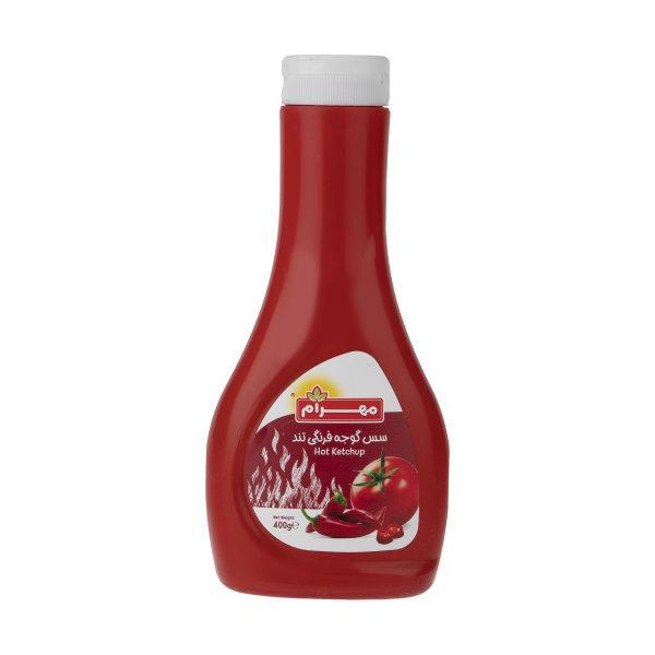 سس گوجه فرنگی تند مهرام مقدار 400 گرم - سس گوجه فرنگی تند مهرام مقدار 400 گرم