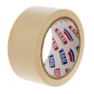 نوارچسب کاغذ 5 سانتی متر رازی - نوارچسب کاغذ 5 سانتی متر رازی
