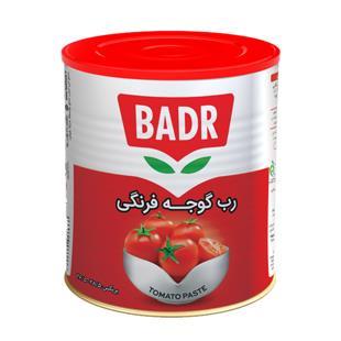 رب گوجه فرنگی (درب ایزی اپن) قوطی 800 گرمی بدر - رب گوجه فرنگی (درب ایزی اپن) قوطی 800 گرمی بدر