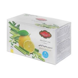 دمنوش گیاهی لاغری لیمو و کرفس 20عددی گلستان - دمنوش گیاهی لاغری لیمو و کرفس 20عددی گلستان