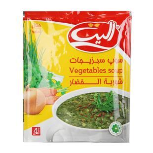 سوپ سبزیجات 65 گرمی الیت - سوپ سبزیجات 65 گرمی الیت