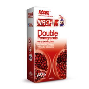 کاندوم تنگ کننده انار دوبل 12 عددی کدکس - کاندوم تنگ کننده انار دوبل 12 عددی کدکس