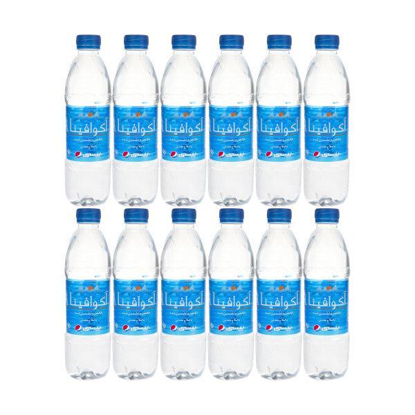 آب معدنی ۰.۵ لیتری 12 عددی آکوافینا - آب معدنی ۰.۵ لیتری 12 عددی آکوافینا