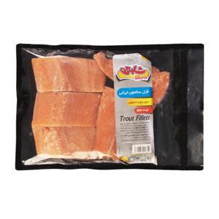 فیله ماهی قزل سالمون ایرانی 500 گرمی شارین - فیله ماهی قزل سالمون ایرانی 500 گرمی شارین