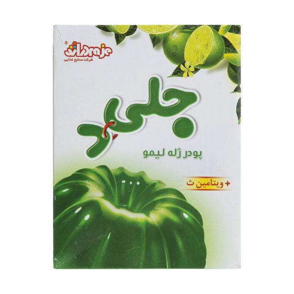 پودر ژله لیمو 100 گرم دراژه - پودر ژله لیمو جلید وزن 100 گرم