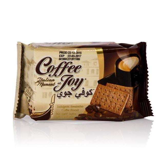 بیسکویت 45g کوفی جوی با طعم قهوه  (coffee joy) - بیسکویت 45g کوفی جوی  (coffee joy)