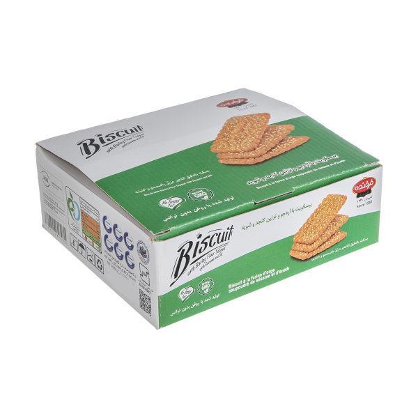 بیسکویت آرد جو فرخنده مقدار 700 گرم - بیسکویت آرد جو فرخنده مقدار 700 گرم