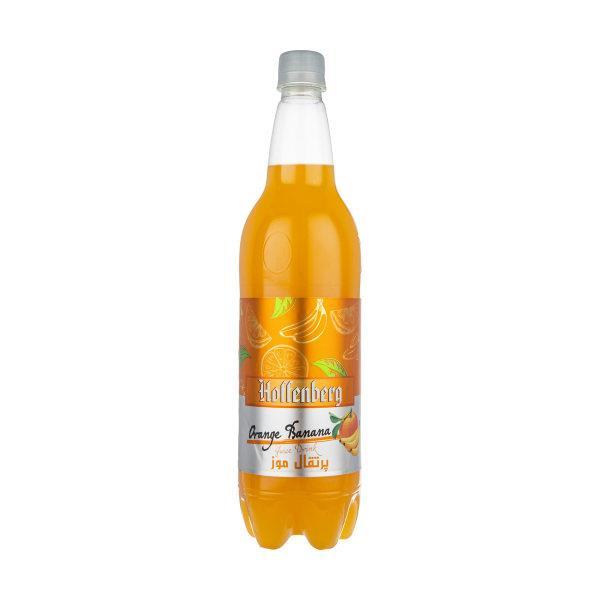 نوشیدنی گاز دار پرتقال موز 1 لیتر هوفنبرگ  Hoffenberg - نوشیدنی گاز دار پرتقال موز هوفنبرگ - 1 لیتر