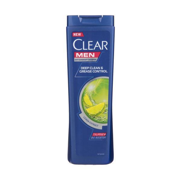 شامپو ضد شوره و کنترل چربی و پاکسازی عمیق موی سر مردانه 400 میل کلیر مدل deeo clean&grease control - شامپو ضد شوره و کنترل چربی و پاکسازی عمیق موی سر مردانه 400 میل کلیر مدل deeo clean&grease control