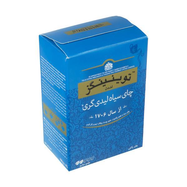 چای سیاه لیدی گری توینینگز - 100 گرم - چای سیاه لیدی گری توینینگز - 100 گرم