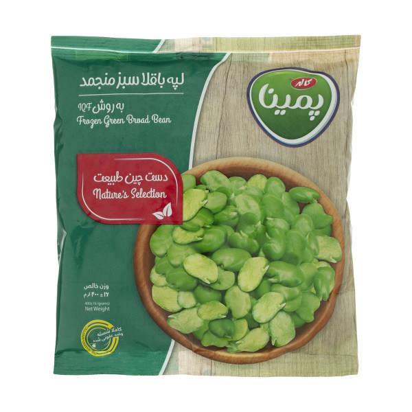لپه باقلا سبز منجمد پمینا - 400 گرم - لپه باقلا سبز منجمد پمینا - 400 گرم