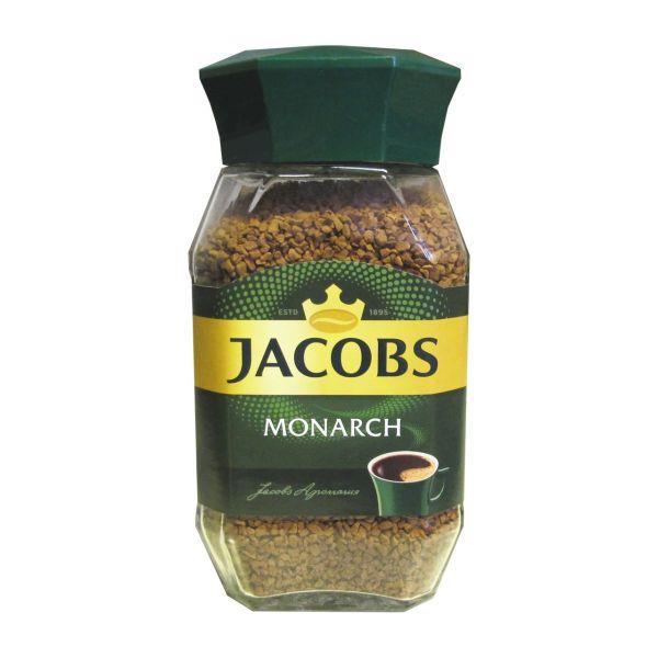 قوطی قهوه فوری جاکوبز100 گرم  مدل مونارک (JACOBS) - قوطی قهوه فوری جاکوبز مدل مونارک (JACOBS)