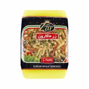 ماکارونی پیکولی سبزیجات 500 گرمی  زر - ماکارونی پیکولی سبزیجات 500 گرمی  زر