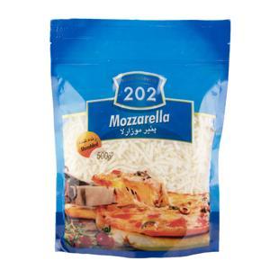 پنیر پیتزا موزارلا 500 گرمی 202 - پنیر پیتزا موزارلا 500 گرمی 202