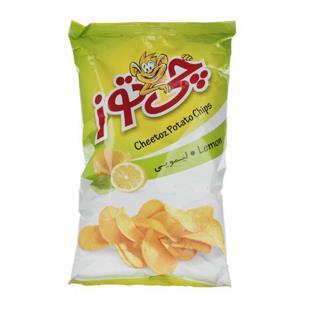 چیپس لیمویی متوسط 60 گرمی چی توز - چیپس لیمویی متوسط 60 گرمی چی توز