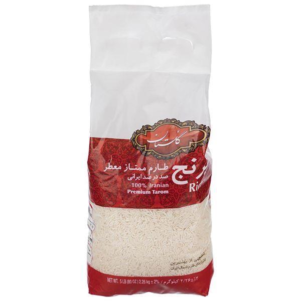 برنج طارم ممتاز گلستان مقدار 2.26 کیلوگرم - برنج طارم ممتاز گلستان مقدار 2.26 کیلوگرم