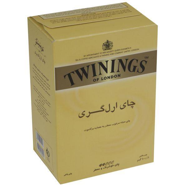 چای سیاه توینینگز ارل گری مقدار 100 گرم - چای سیاه توینینگز ارل گری مقدار 100 گرم