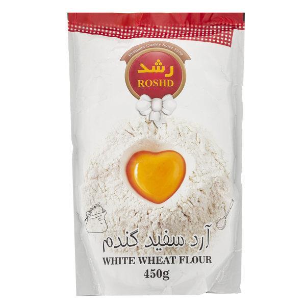 آرد سفید گندم رشد مقدار 450g - آرد سفید گندم رشد مقدار 450 گرم