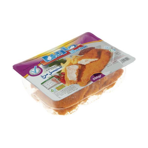 شنیسل مرغ 550 گرمی مارین - شنیسل مرغ 550 گرمی مارین