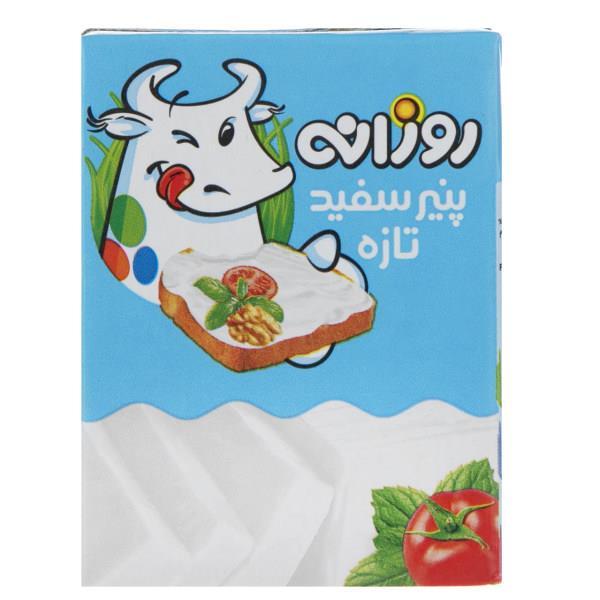 پنیر سفید تازه روزانه مقدار 210 گرم - پنیر سفید تازه روزانه مقدار 210 گرم