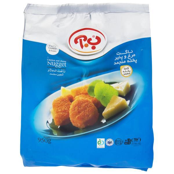 ناگت مرغ و پنیر 950 گرمی ب.آ - ناگت مرغ و پنیر 950 گرمی ب.آ