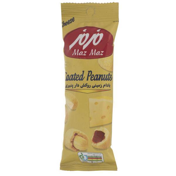 بادام زمینی 40g مزمز - بادام زمینی روکش دار پنیری 40 گرم مزمز