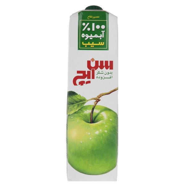 آبمیوه سیب سن ایچ حجم 1 لیتر - آبمیوه سیب سن ایچ حجم 1 لیتر