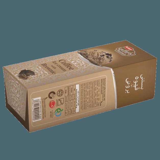 بستنی قهوه کیک براونی 550 گرم کاله - بستنی قهوه کیک براونی 550 گرم کاله