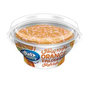 بستنی فالوده یخی پرتقالی دایتی - بستنی فالوده یخی پرتقالی دایتی