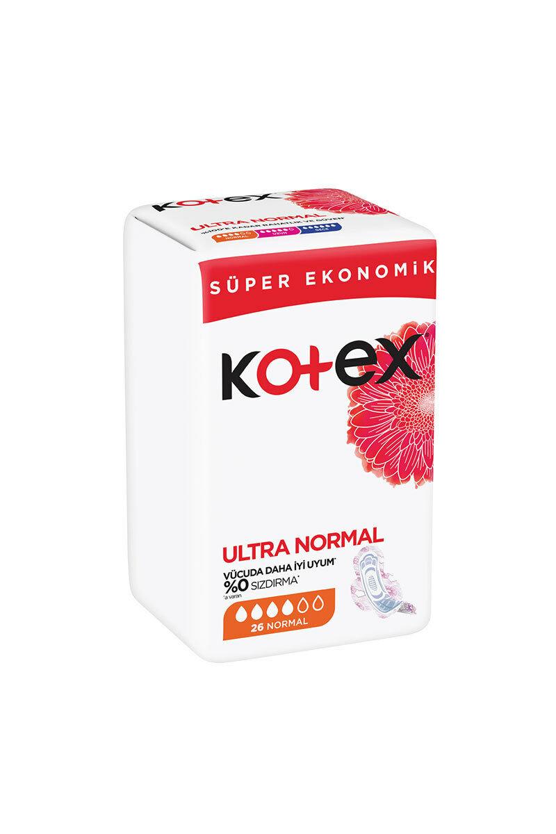 نوار بهداشتی نرمال مدل ULTRA تعداد 26 kotex - نوار بهداشتی نرمال مدل ULTRA تعداد 26 kotex